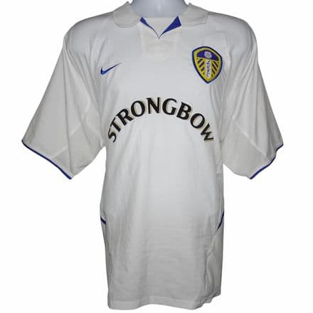 2002-2003 Leeds United Home Football Shirt Nike XL (Excellent Condition)